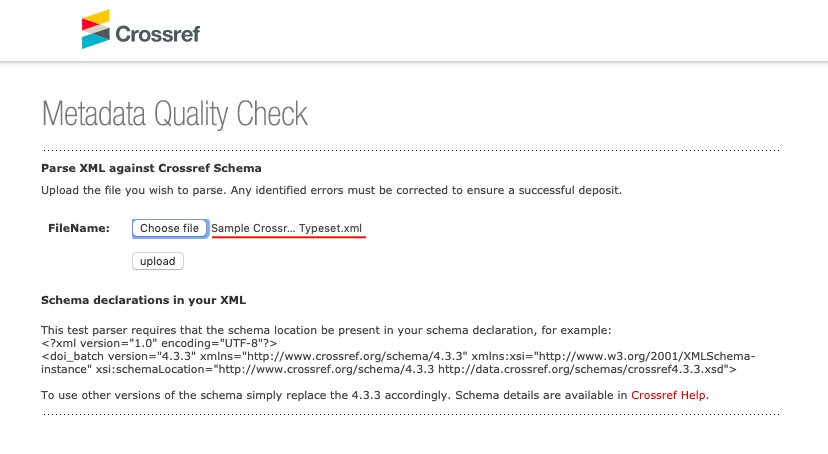 Crossref Deposit XML - Typeset - Download Crossref XML